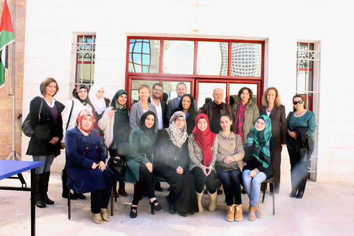 Susan Markham meets with USAID staff, beneficiaries, and partners to promote the importance of gender equitable structures, institutions, and infrastructure in Palestinian society. USAID/West Bank/Gaza