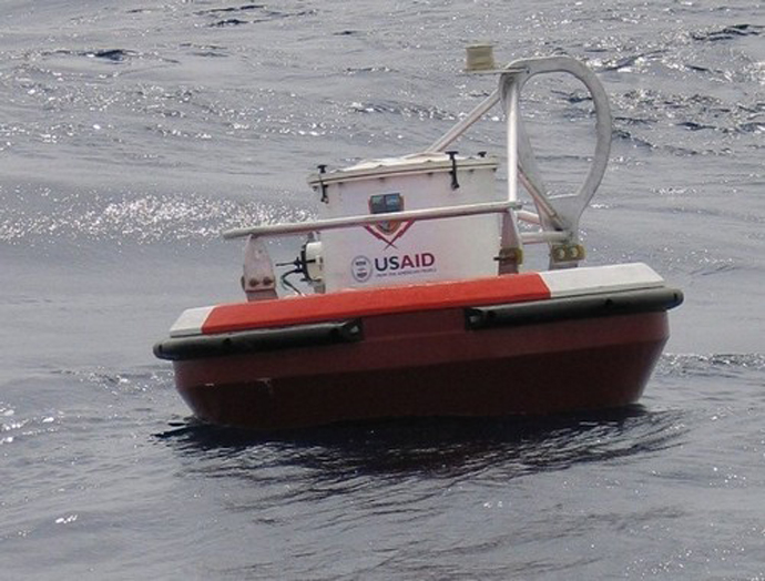 In addition to aiding recovery and reconstruction, USAID has supported the development of a tsunami warning system in the Indian Ocean region to help governments detect and prepare for tsunamis in the future. / USAID