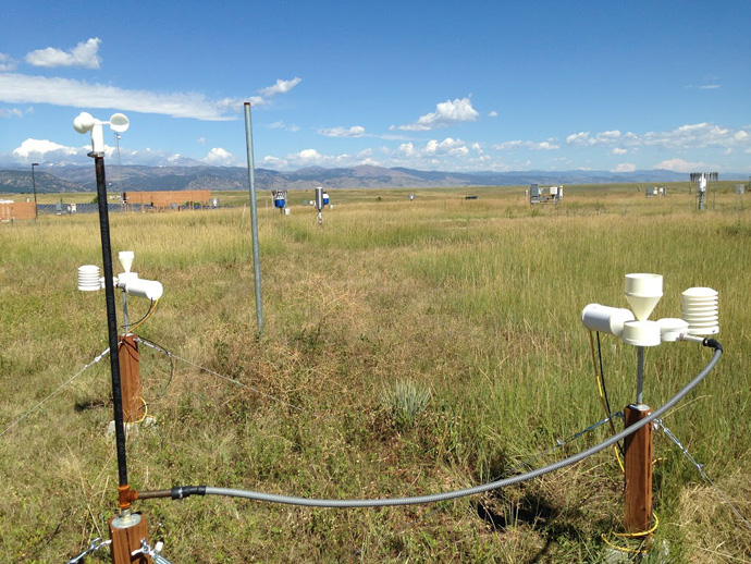 Don't let its humble looks fool you - this 3D-printed weather station will help developing countries forecast weather-related disasters and save lives. / Kelly Sponberg, NOAA
