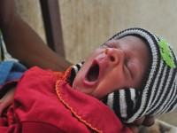 A newborn in Nigeria. USAID is intensifying efforts to develop, test and scale up simple, low-cost approaches to preventing newborn deaths in lower-income countries. / Amy Fowler, USAID