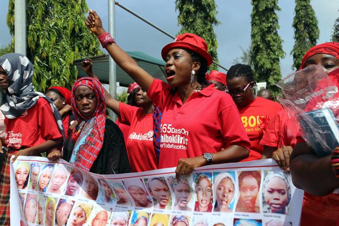 Protestmarsch von Bring Back Our Girls