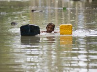 El Niño is expected to deliver a wet wallop to some parts of the world, triggering more tropical storms, monsoon rains, flooding and landslides. / Ye Aung Thu, AFP