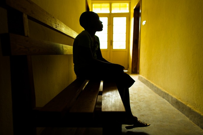 In 2013, this 11-year-old girl from the Democratic Republic of Congo was raped by a family friend. In the aftermath she faced social stigma, isolation and teasing in school. USAID-supported interventions like counseling and medical care helped her regain her voice and her dignity. / Morgana Wingard, USAID.