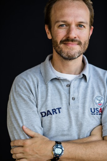 Author Justin Pendarvis first traveled to the region in July 2014 and helped stand up USAID's Disaster Assistance Response Team to coordinate the response. / Morgana Wingard/USAID
