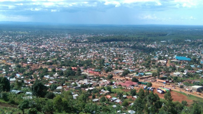 The city of Beni in North Kivu, Democratic Republic of the Congo. / Christina Mukongoma