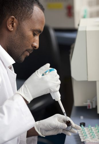 Laboratory systems and commodities are a critical component of USAID's global health supply chain and integral to achieving an AIDS-free generation. / SCMS