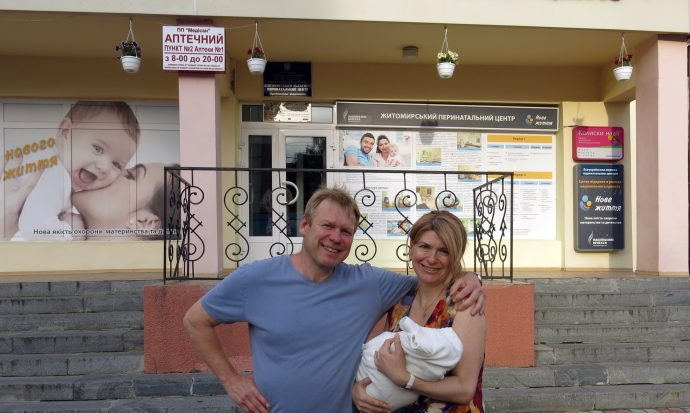 Getting ready to go home. /Olya Myrtsalo, USAID/Christian Kitschenberg