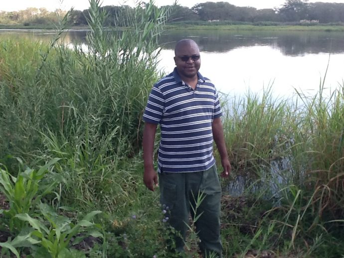 On the banks of Shire River in Nsanje district, Malawi /Emmanuel Ngulube