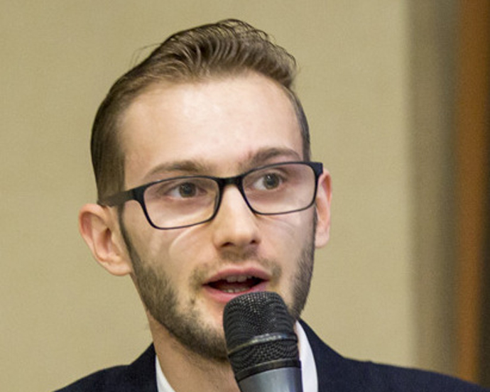 Taras Sluchyk has supported anti-corruption efforts at the local level in Ukraine for many years, playing a pivotal role in USAID programs. / Courtesy of IRI