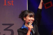 Linda Eang won first prize in the International Republican Institute's televised debate series Next Generation in 2014. / IRI