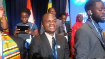 Marshall Dyton during the Mandela Washington Fellowship Presidential Summit in 2015 in Washington, D.C. / IREX