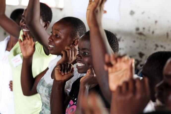 Girl power in Chipoka, Malawi. /Amber Lucero-Dwyer
