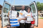 Food recovery and redistribution van of Food for All Africa. / Paul Osafo Buabeng